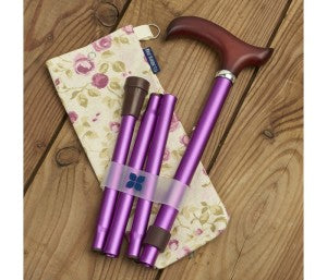 Blue Badge Co Folding Walking Stick Valentines Gift