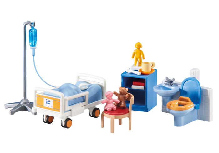 GIFTS-FOR-DISABLED-CHILDREN-Playmobil-Hospital-Set