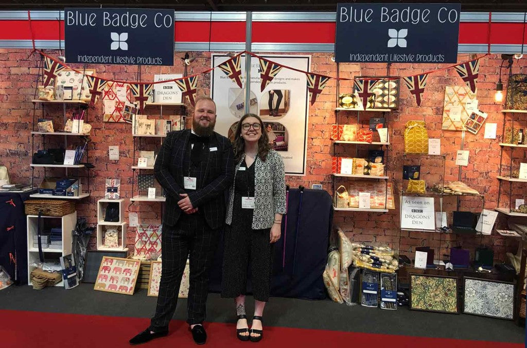 Austin and Holly Naidex Trade Show Stand