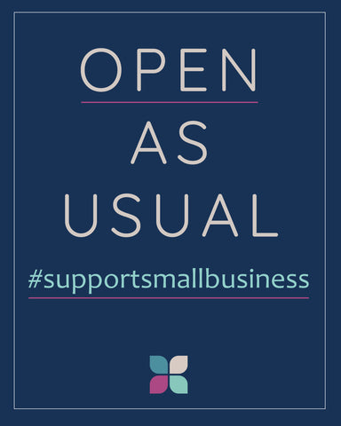 Finally, this international crisis will hit small businesses, like us, the most. If you can, please support the smaller business around you.