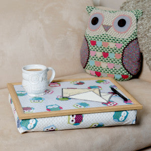 Cushioned Lap Tray Owls-294-3