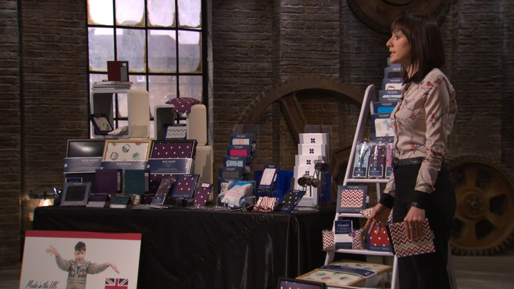 Ellen from Blue Badge Company On Dragons Den