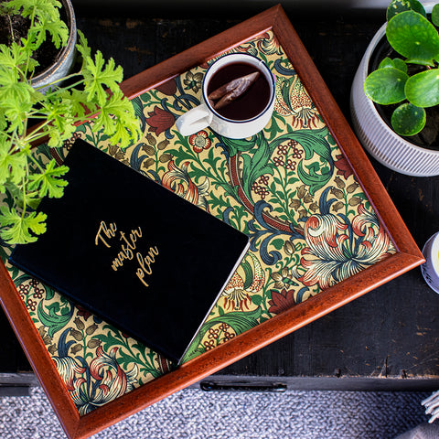 Lap Tray in William Morris Golden Lily