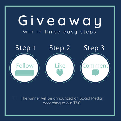Social Media Giveaway rules Blue Badge Co 2020