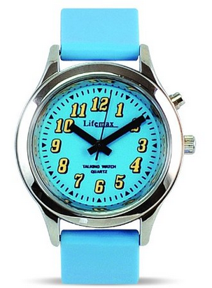 Lifemax Child s Talking Watch Blue 431  Amazon.co.uk  Watches
