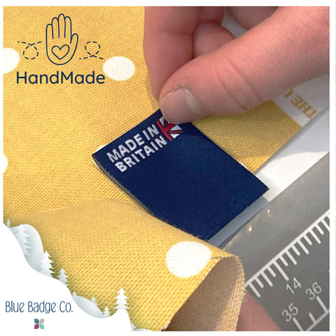 Blue Badge Co products are handmade with love in Britain and the new price increase on Feb 2021 will improve customer experience