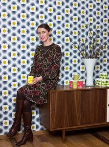Orla Kiely prints Blue Badge Co. product launch