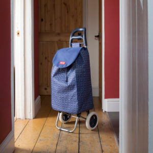 Blue Badge Co. Navy Cool Bag Shopping Trolley