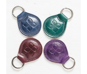 Blue Badge Co Leather Keyring Who Was Saint Valentine Valentine's Day blog