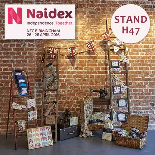Blue Badge Company Naidex Stand H47