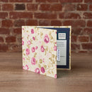 Disabled Blue Badge Wallet in Mulberry Rose on desk at home