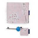 Disabled Blue Badge Wallet, Keyring and RADAR key in Cherry Blossom with company logo showing