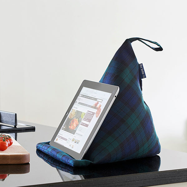 Tablet Cushion in Blackwatch Tartan