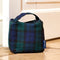 Fabric Door Stop in Blackwatch Tartan