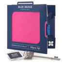 Disabled Blue Badge Wallet in Pink Panama packed in blue badge company recyclable packaging and RADAR Disabled Toilet Key