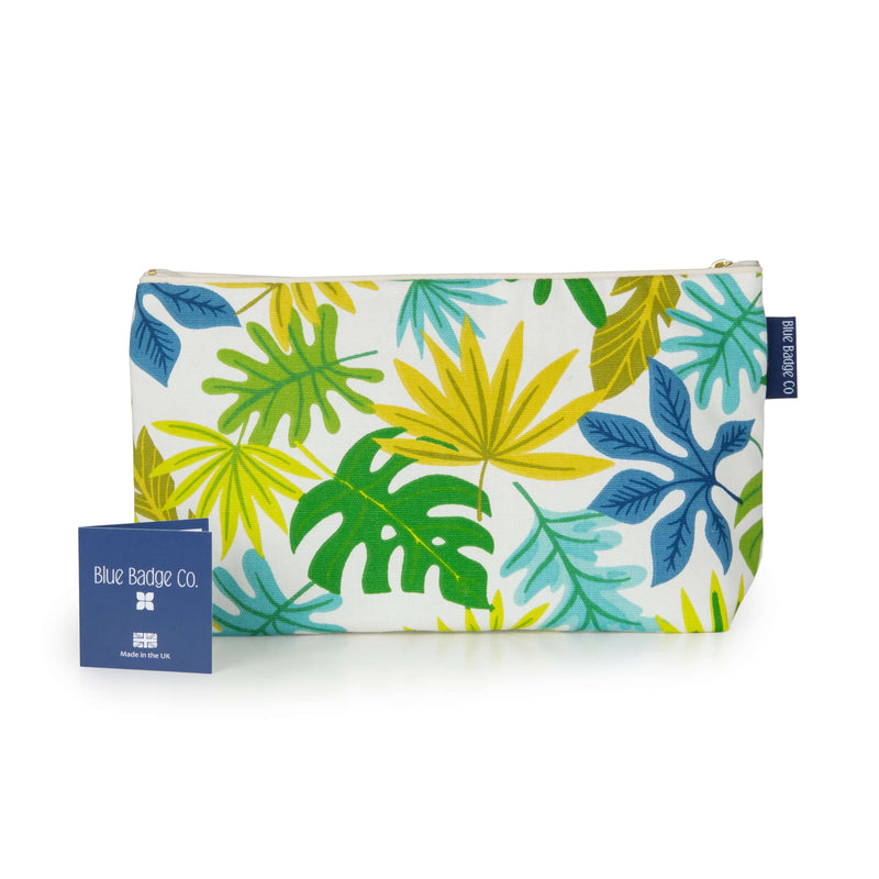 Toiletries Bag, Wash Bag in Jungle