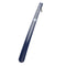 Long Handled Shoe Horn in Navy with blue badge company logo on top