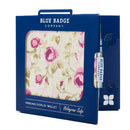 Disabled Blue Badge Wallet in Mulberry Rose packed in blue badge company recyclable packaging