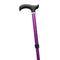 Adjustable Folding Walking Stick Cane in Purple