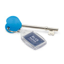 RADAR Disabled Toilet Key with blue badge company keyring attached