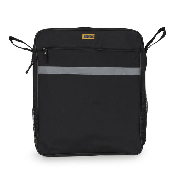Large Waterproof Mobility Scooter Bag in Black with pockets