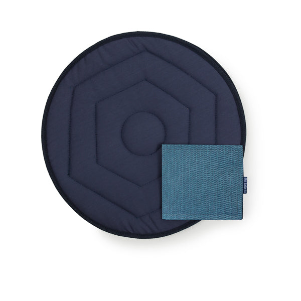 Swivel Car Cushion and Disabled Blue Badge Wallet in Herringbone
