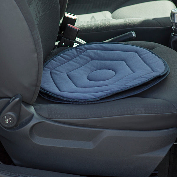 Swivel Cushion for Car Seat in Navy