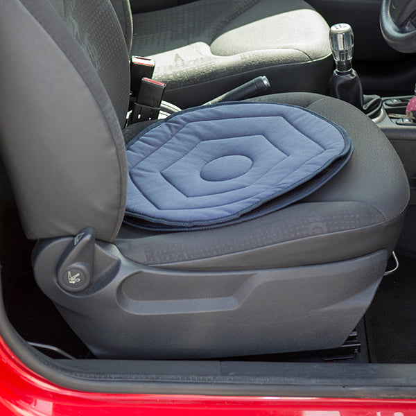 Swivel Car Cushion and Disabled Blue Badge Wallet in Busy Bees