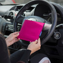 Disabled Blue Badge Wallet in Pink Panama