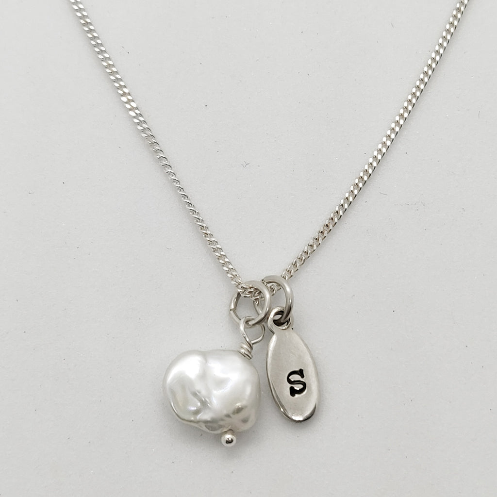 Jana Personalised Keshi Pearl Necklace
