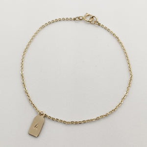 Amara Gold Personalised Bracelet