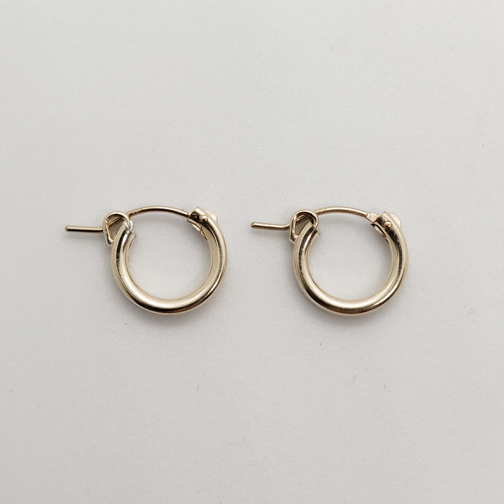Mini Rani Gold Huggie Hoops