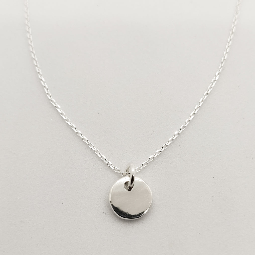 Personalised Silver Pendant Necklace