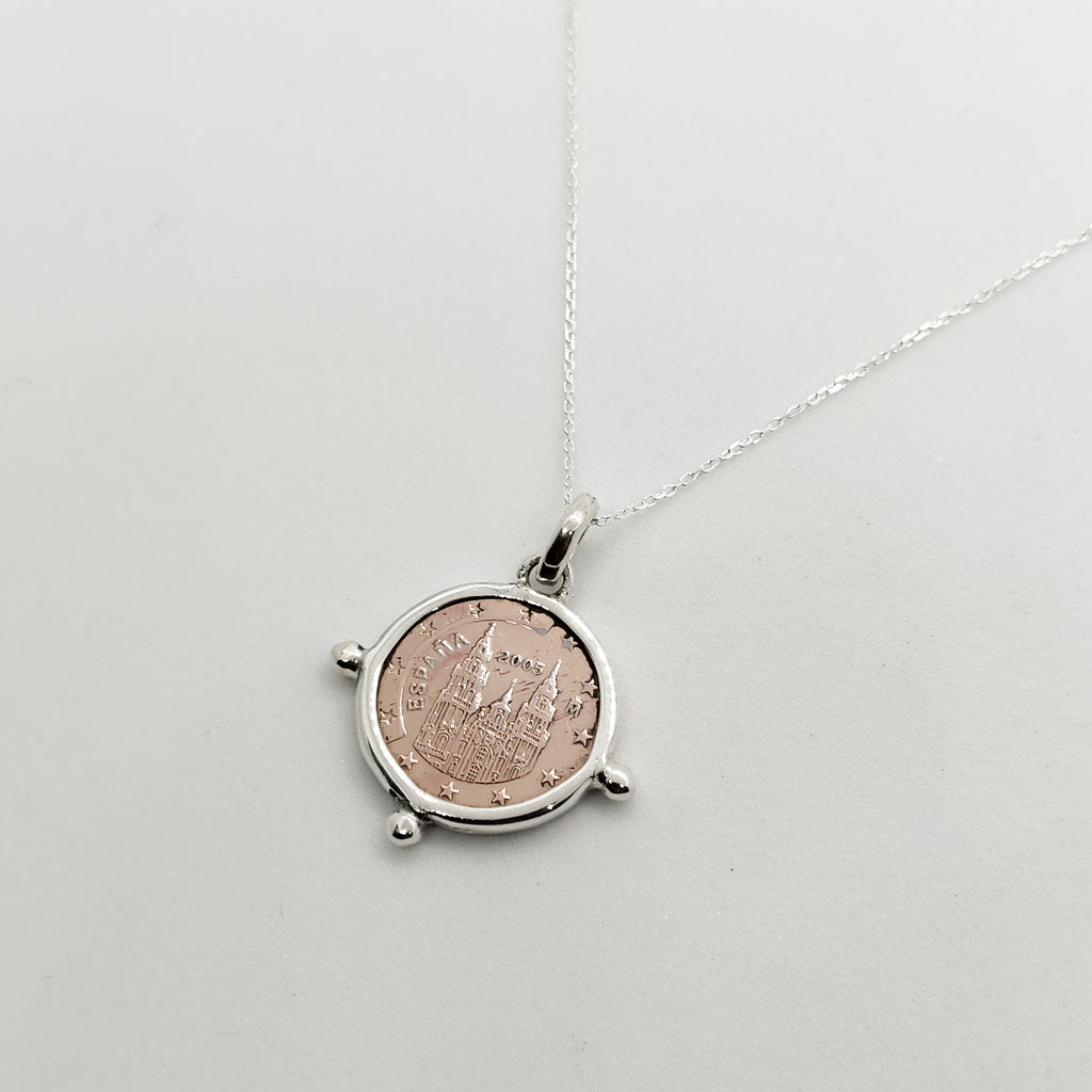 Tia Coin Necklace