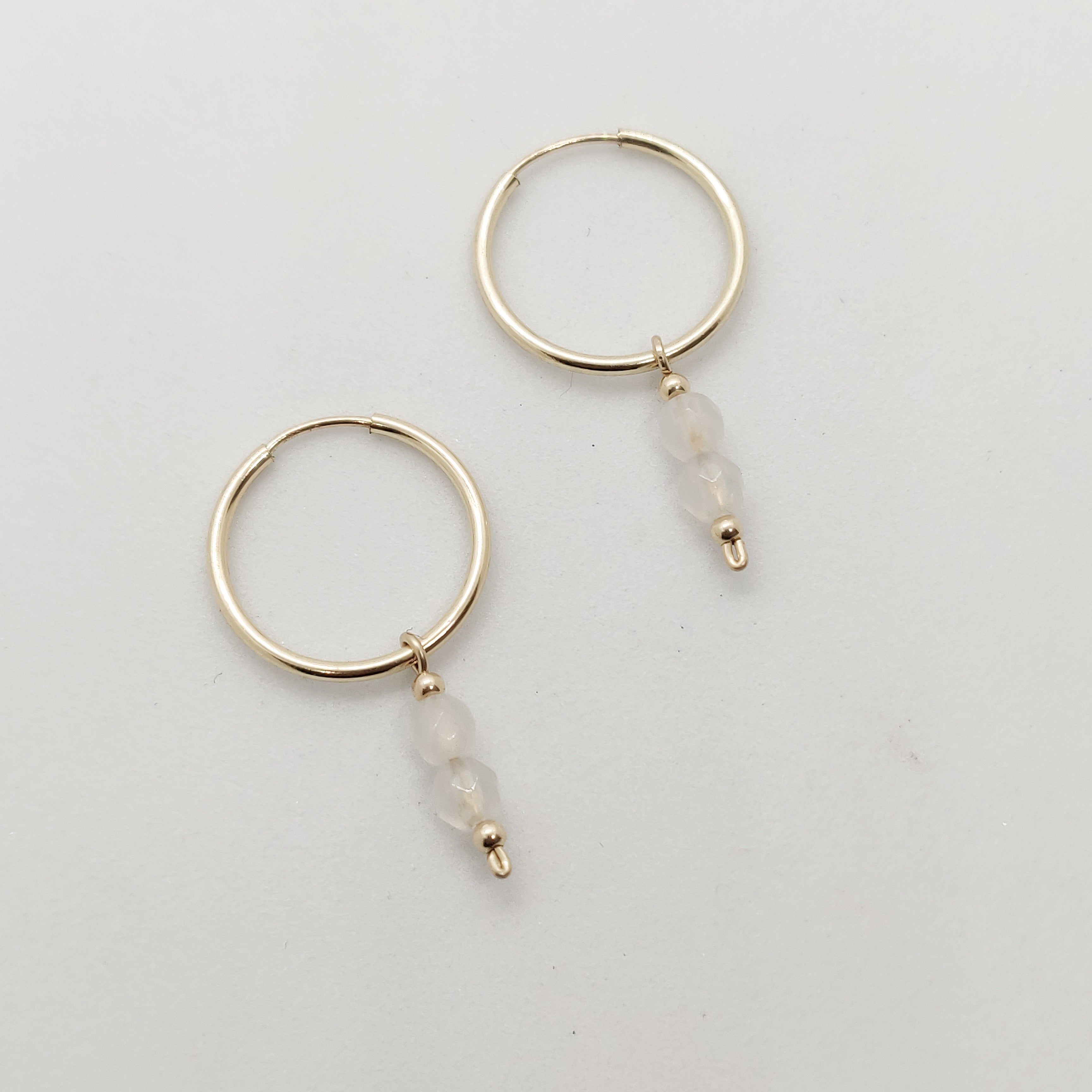 Mini Cleopatra Gold Hoops