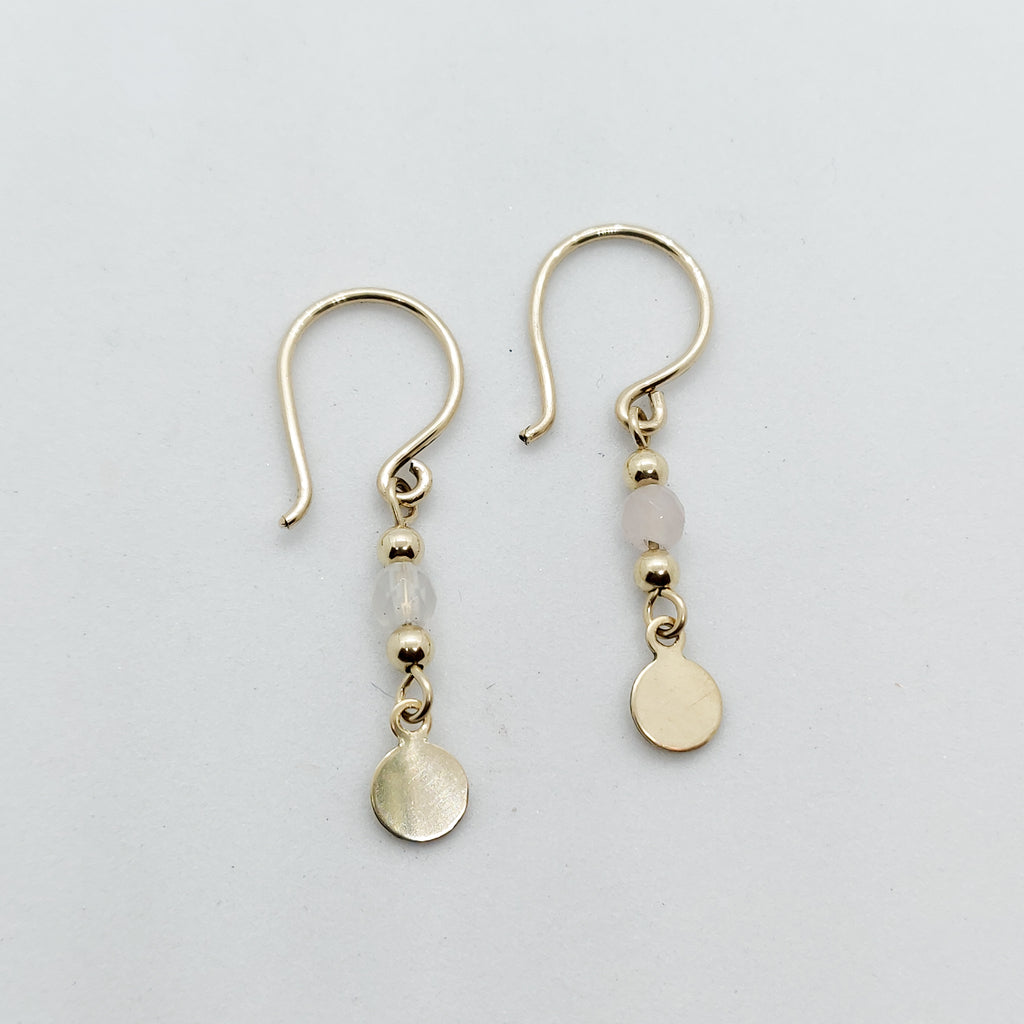 Mini Athena Personalised Drop Earring