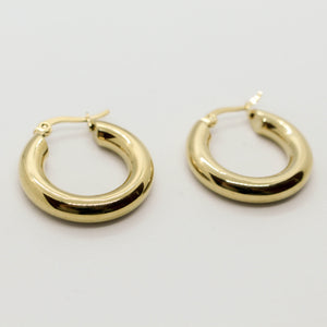 Liquid Gold Chunky Hoops
