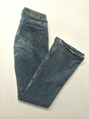 Silver Jeans Women's Size 27/33 Low Rise Stretch Boot Cut Denim Blue Jeans