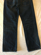 Load image into Gallery viewer, American Eagle Mens Dark Wash Original Straight Leg Denim Blue Jeans Size 26/28