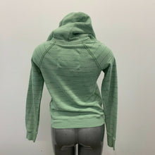 Load image into Gallery viewer, Abercrombie & Fitch Hoodie Women's Medium Green Striped Hooded Long Sleeve