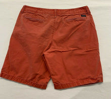 Load image into Gallery viewer, American Eagle Men's Chino Shorts Size 36 Prep Length Flat Front Cotton Khaki's