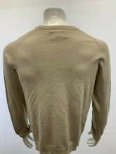 Load image into Gallery viewer, American Eagle Sweater NEW Men's Large Vintage Slim Fit Beige V Neck Long Sleeve