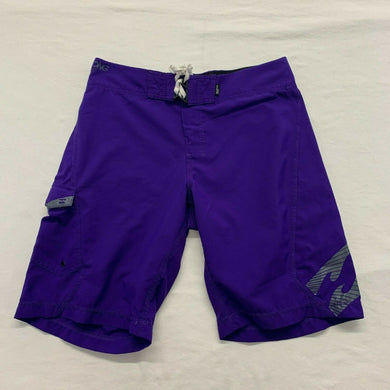 Billabong Platinum Board Shorts Men's Size 32 Purple Polyester Recycler