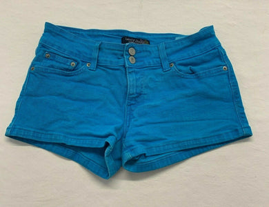 Levi's Jeans Women's Shorts Size 9 Blue Stretch Low Rise Cotton/Spandex