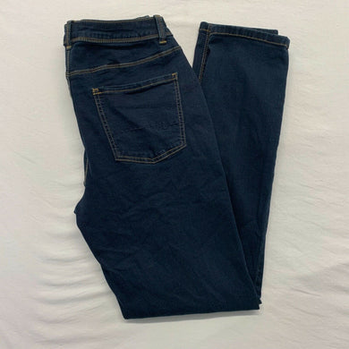 Maurices Curvy Jeans Women's Size 9/10 Stretch Skinny Leg High Rise Dark Wash