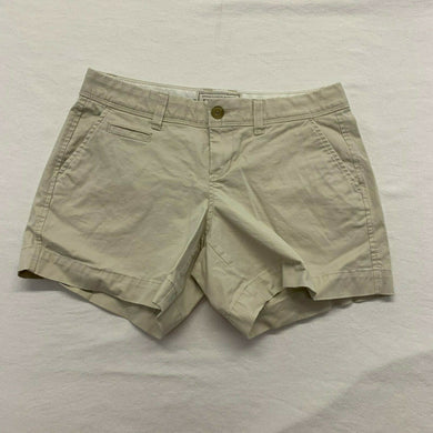 Old Navy Women's Chino Shorts Size 2 Beige Low Rise Stretch Short Perfect Shorts