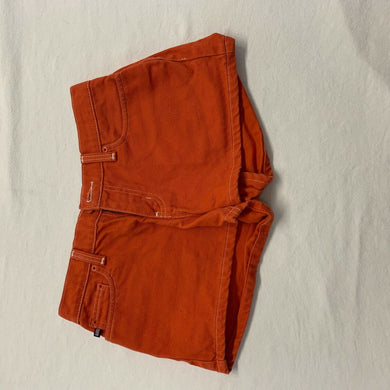 Polo Ralph Lauren Women's Shorts Size 2 Orange Low Rise Cotton Short