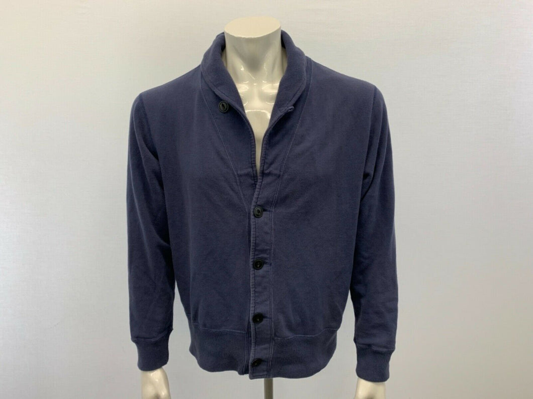Redwood Classics Heritage Collection Men's Sweater Medium Blue Cardigan
