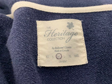 Load image into Gallery viewer, Redwood Classics Heritage Collection Men's Sweater Medium Blue Cardigan