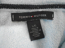 Load image into Gallery viewer, Tommy Hilfiger Baby Blue Long Sleeve Textured Pullover Women's Sweater Size L